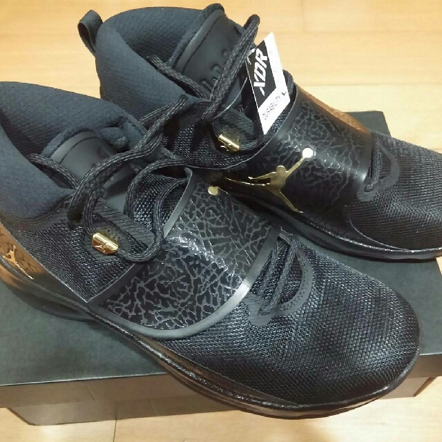 Jordan Super. fly 5 po黑金配色(air Jordan,superfly 5) us11號