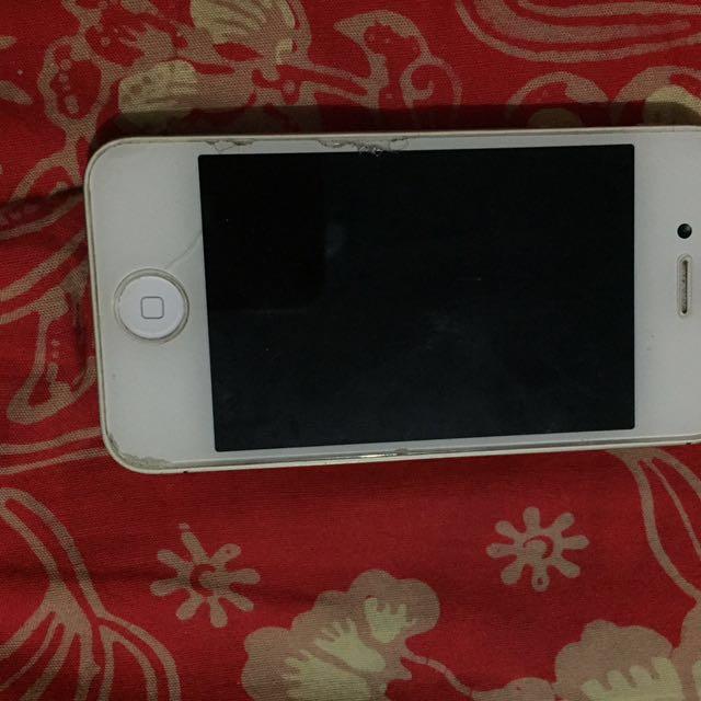 Jual Cepat Murah iPhone 4s 16gb White