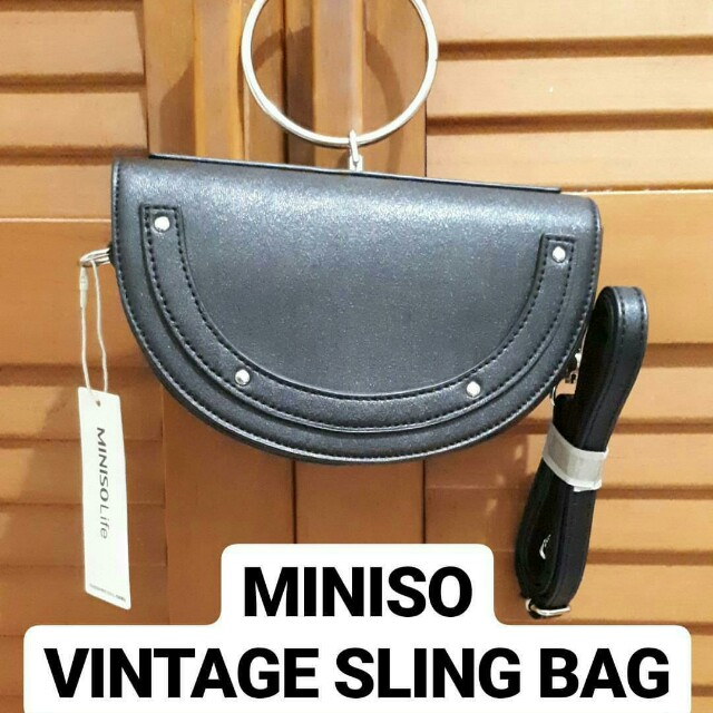 JUAL RUGI MINISO SLING BAG