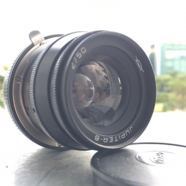 Jupiter 8 - 50mm F2 lens