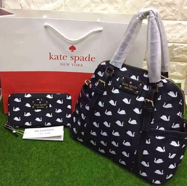 Kaye Spade Handbag with Purse