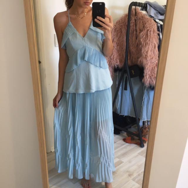 Keepsake top & maxi skirt - size S BNWT