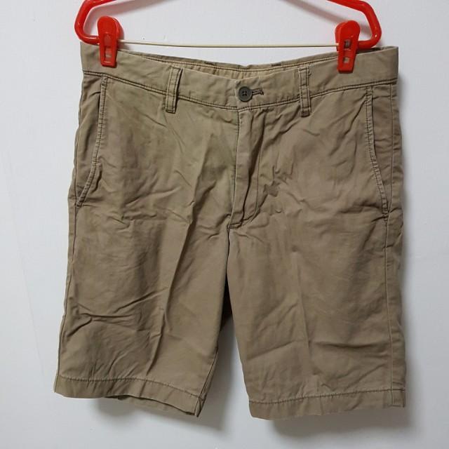 Khaki Uniqlo Shorts (Small size)