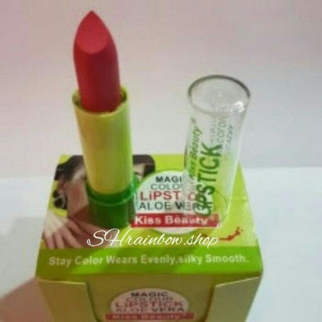 Kiss Beauty Magic Colour Lipstick Aloe Vera