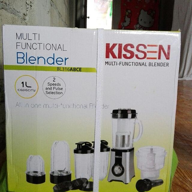 KISSEN all In One Multi-functional Blender