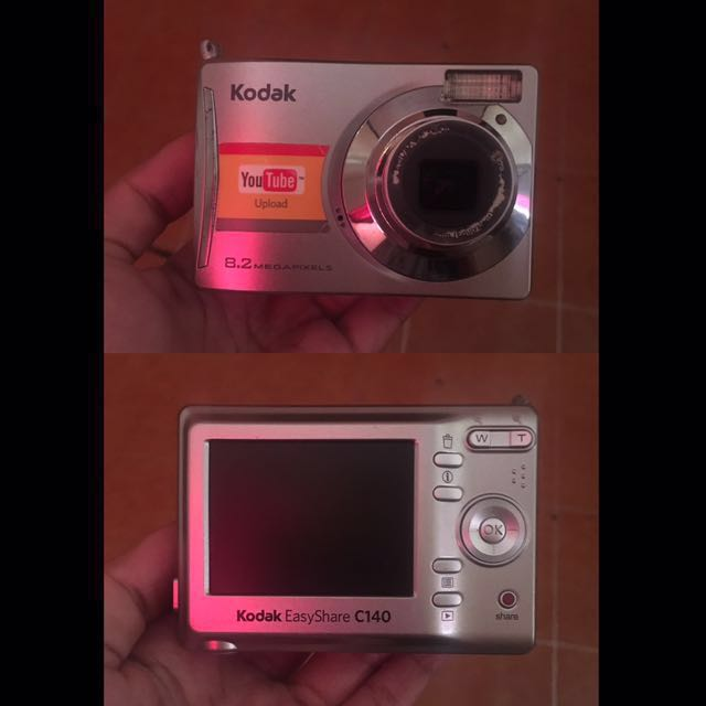 Kodak Easyshare C140 Kayaknya Minus