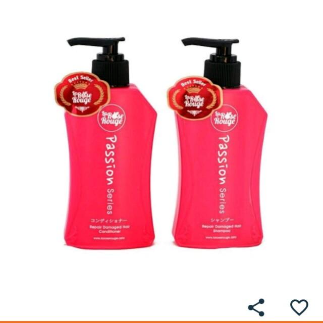 La Rose Rouge Paket 1 set - Shampoo & Conditioner 2 pcs