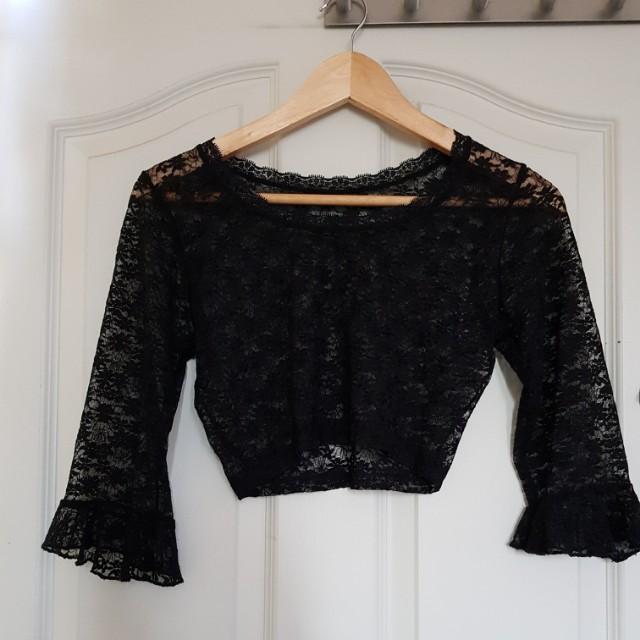 Lacey bell sleeve inner wear