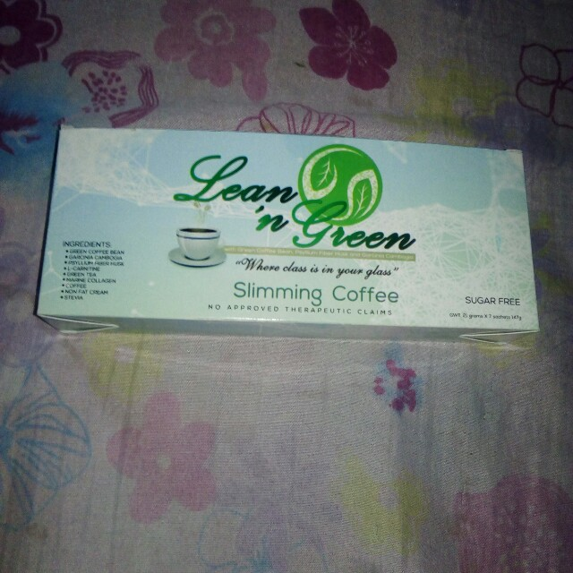 Lean and green slimming coffee