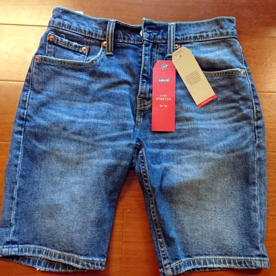 Levi's 牛仔短褲 全新 28腰 標籤還在 絕對正品 免運費