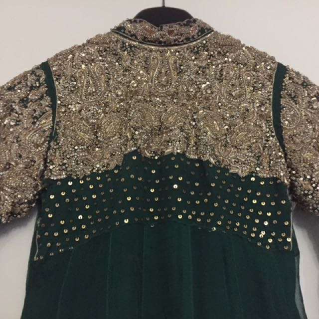 Light mehdni wear anarkali