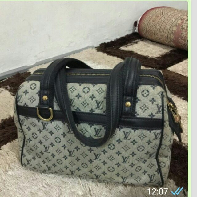 LV minilin handbag (BLACK)