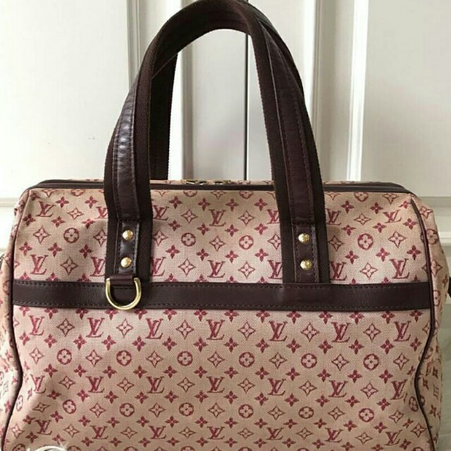 LV minilin handbag (RED)