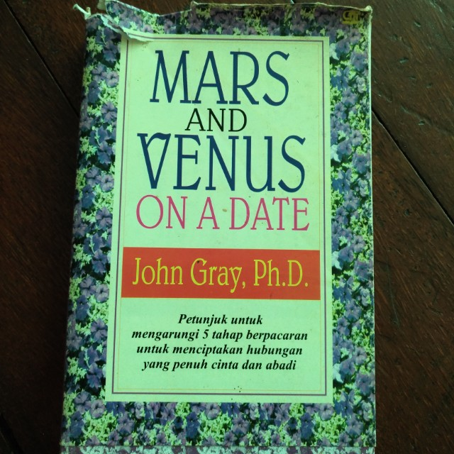 Mars And Venus On A Date by John Gray, Ph.D