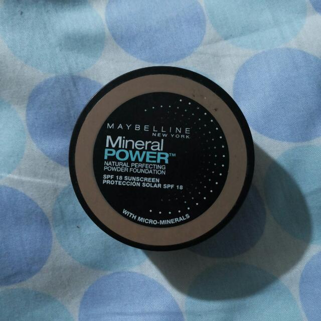 Maybelline Mineral Powder In Tan