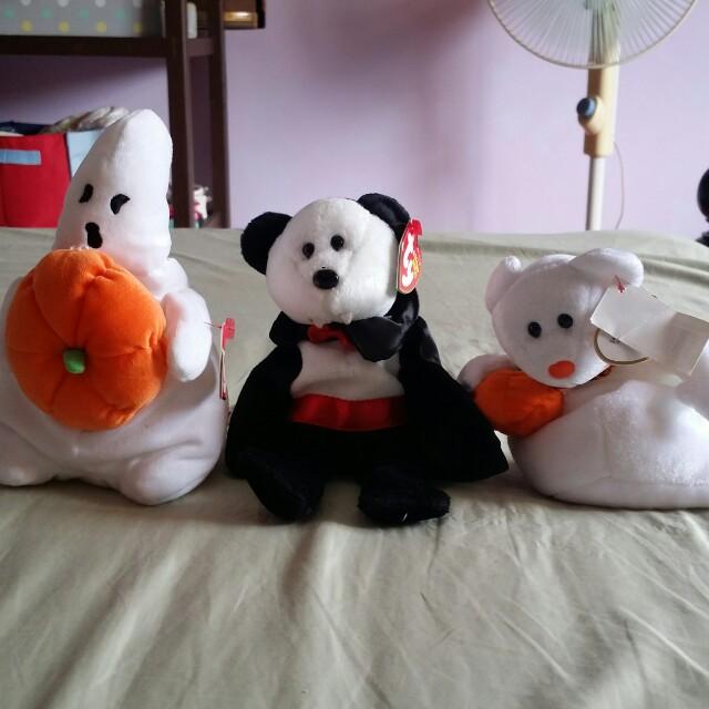 McDo TY Bear Halloween Collection Set of 3