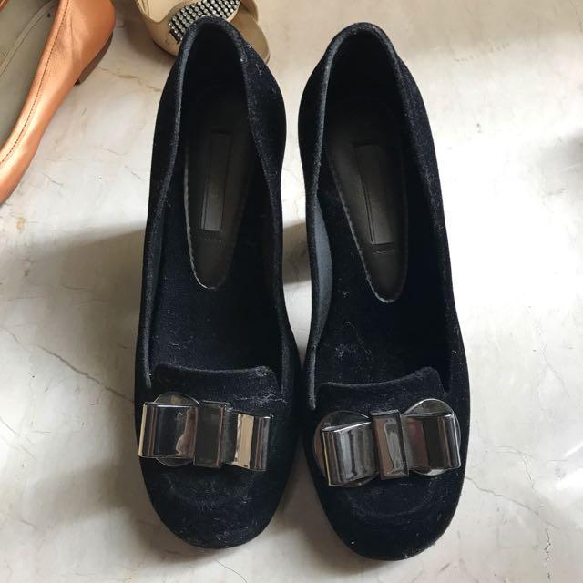 Melissa Black High Heels