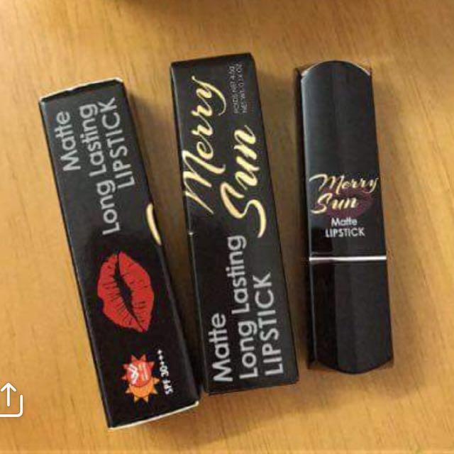Merry sun (matte long lasting lipstick)