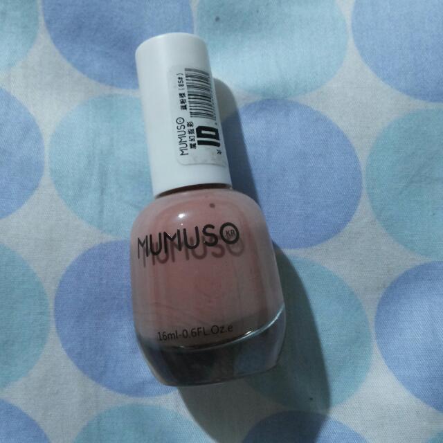 Mumuso Nail Polish In Nude