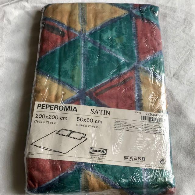 [NEW - BNIB] - IKEA Queen Size Quilt Cover Set