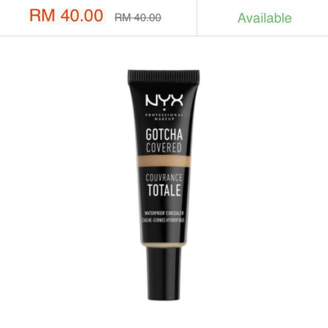 NEW: NYX Liquid Concealer