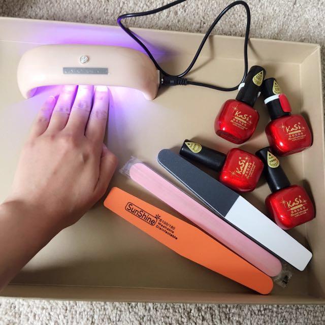 New shellac Gel nail kit