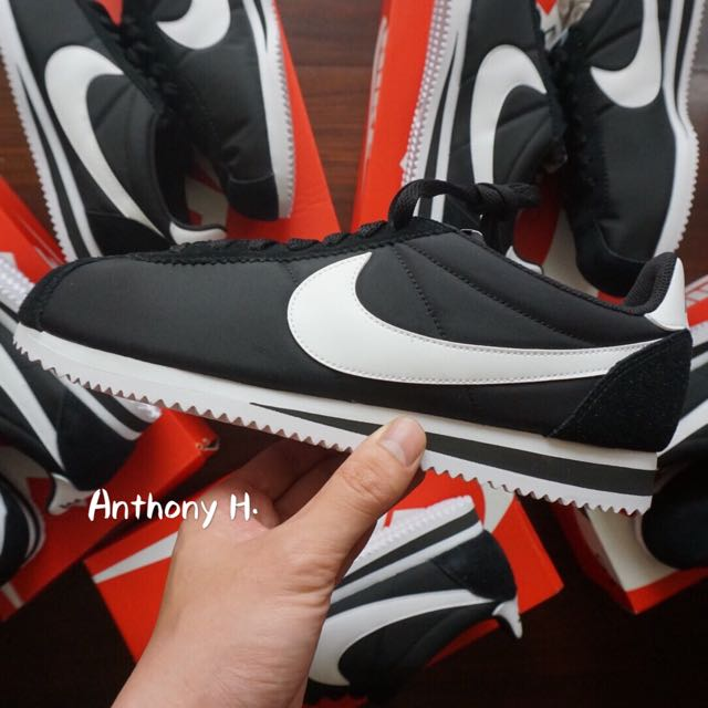 Nike Cortez Nylon 黑 阿甘 尼龍