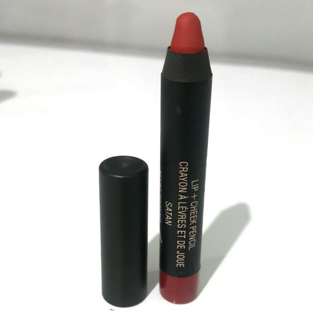 Nudestick lip & cheek pencil #satan
