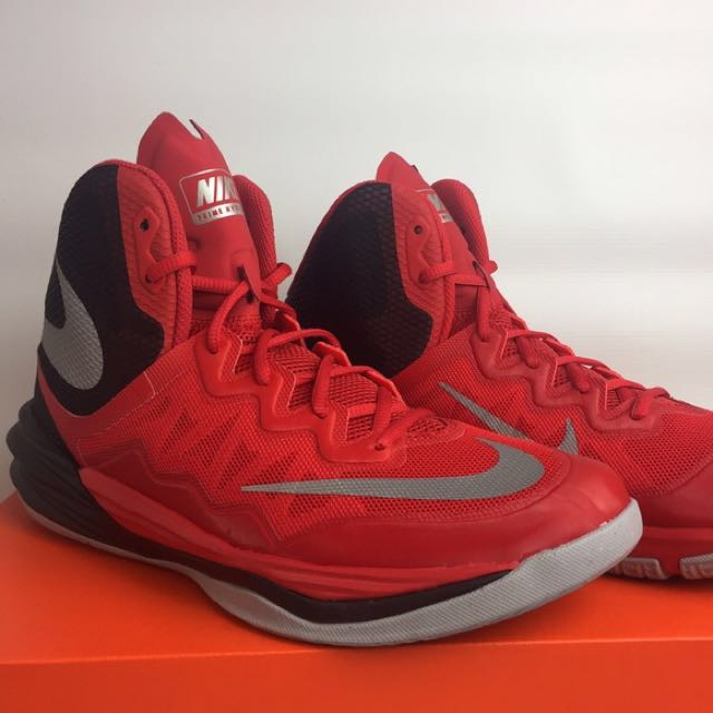 original nike prime hype df ii red mens fashion footwear on carousell
