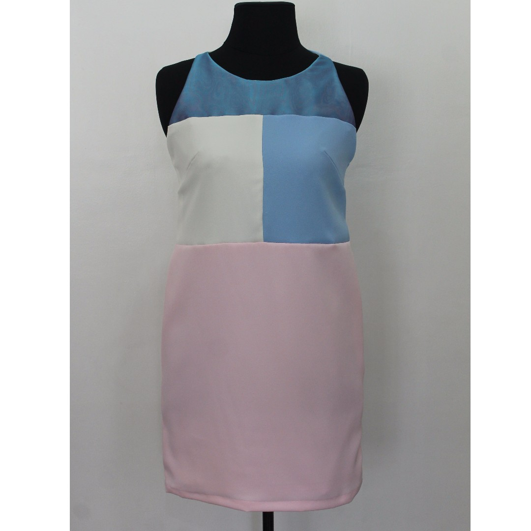 Pastel Colored Shift Dress