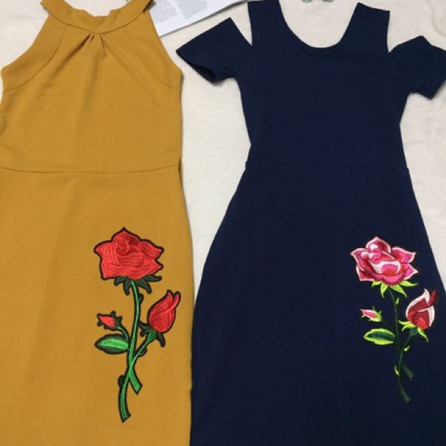 Patched Dress