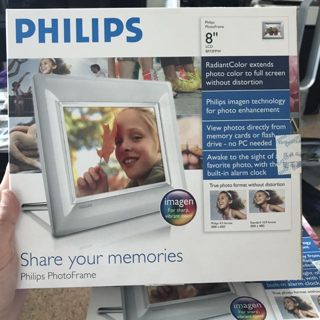 Philips Digital Photo Frame 8 Electronics Others On Carousell