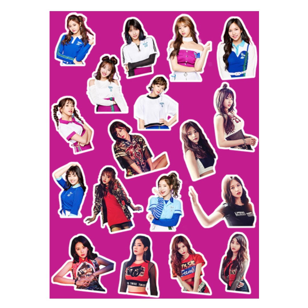 [PO] Twice One More Time Laptop stickers, Entertainment, K ...