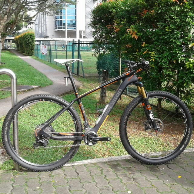 c59fbc68049 Polygon Cozmic 29 RX3 Carbon Fiber Hardtail XC Mtb, Bicycles & PMDs,  Bicycles on Carousell