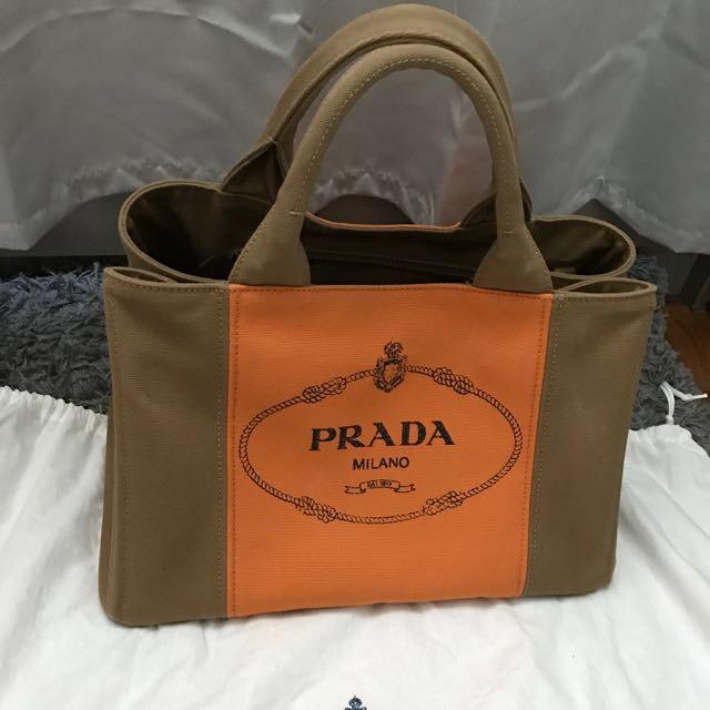 df7a6e98ffe2 Prada Cloth Bag