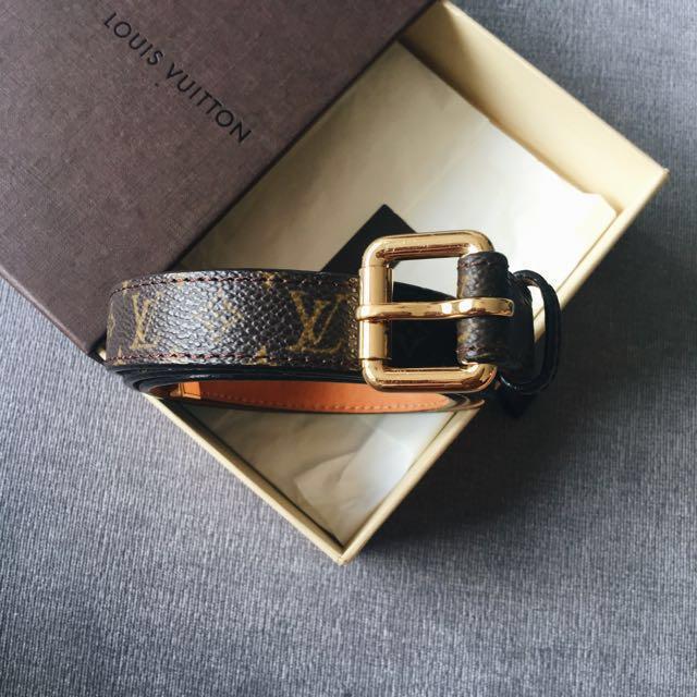 5b7870fa59344 Preloved Louis Vuitton Women s Belt