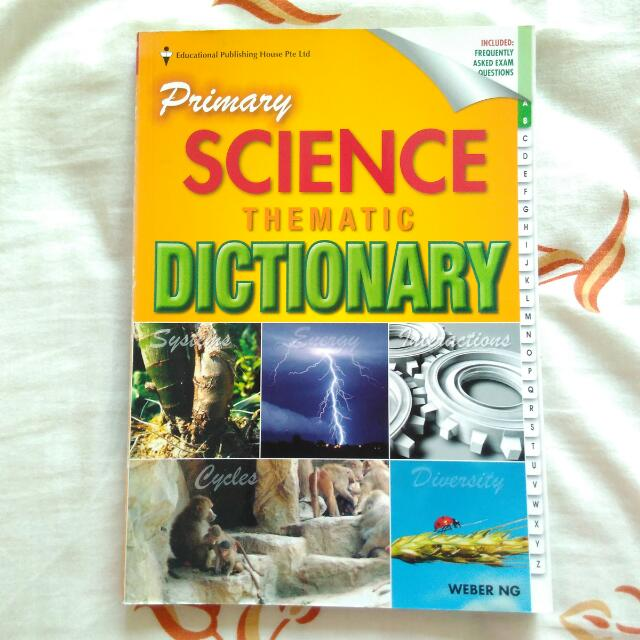 Primary Science Thematic Dictionary