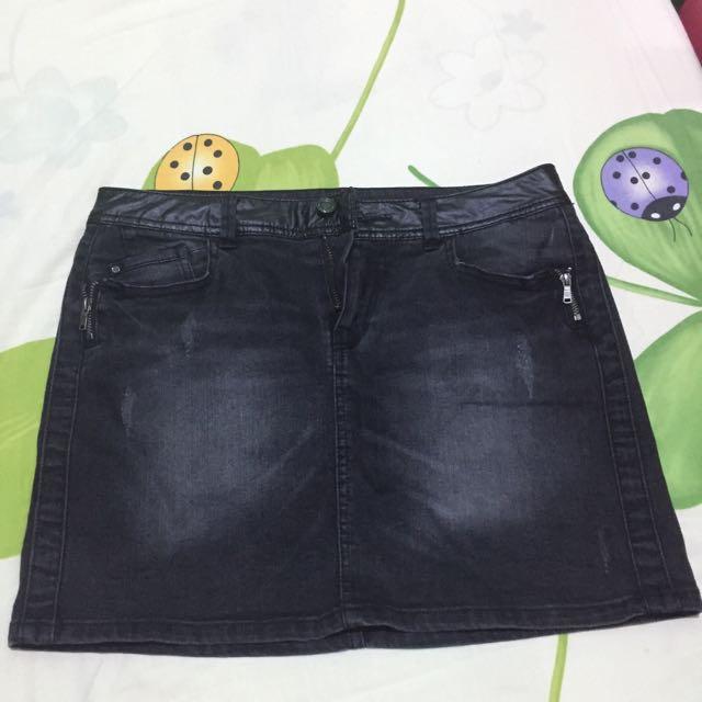 Promod Denim Skirt