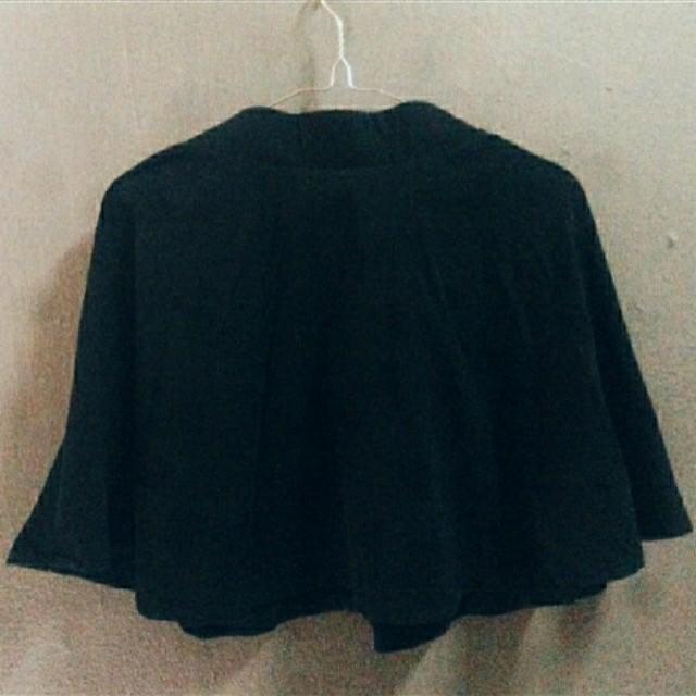 PULL&BEAR Flare Skirt Black