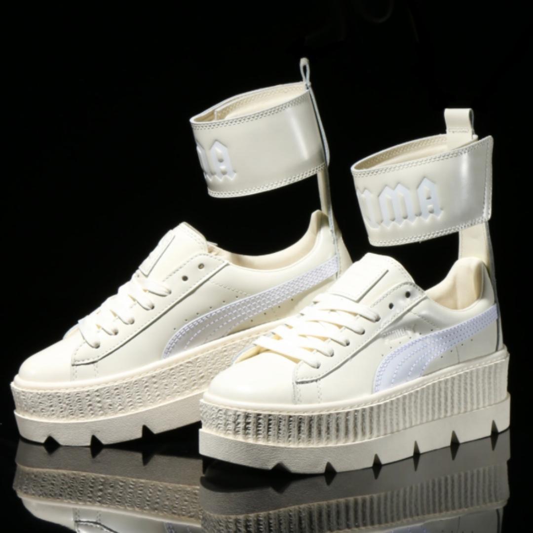 PUMAxFENTY Ankle Strap Sneaker白色 女鞋