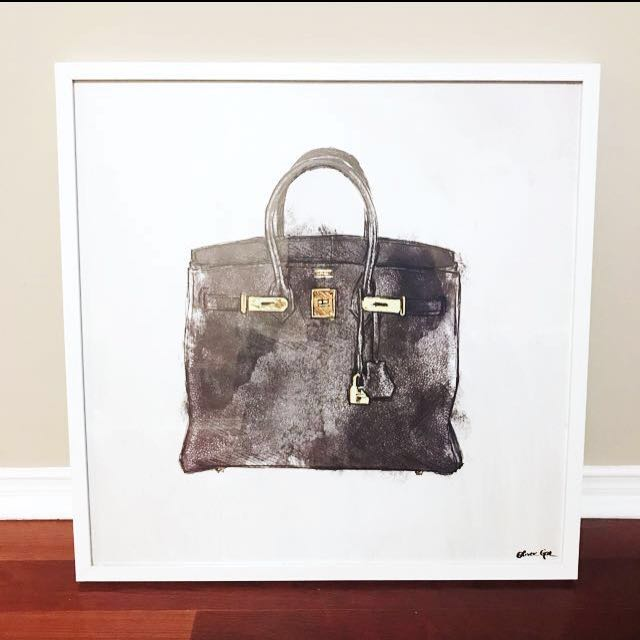 RARE Oliver Gal 'Hermes' painting