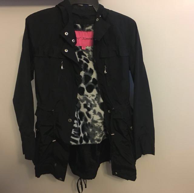 REDUCED!! Betsey Johnson fall jacket XS
