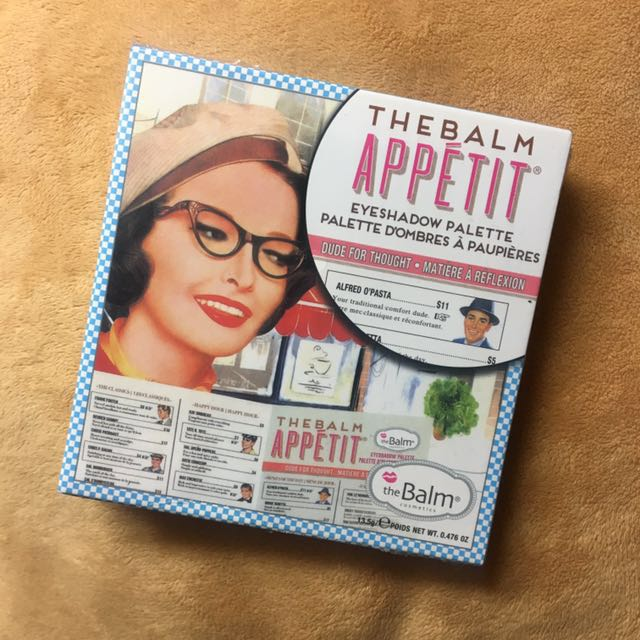 REPRICE theBalm Appetit Shadow Palette