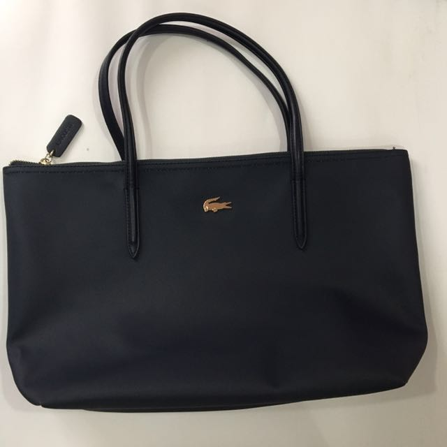 [REPRICED] Lacoste Dark Blue Bag