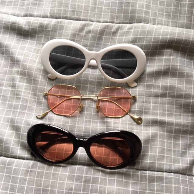 Retro Sunglasses Set