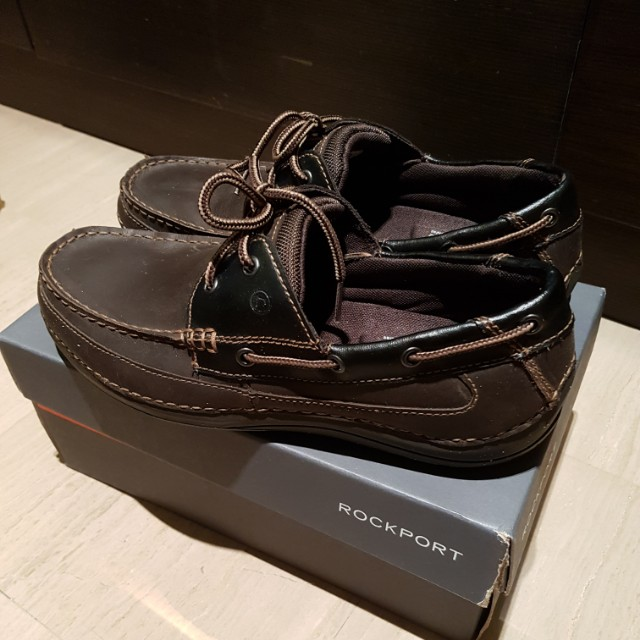 Rockport Boat Shoes with Adiprene by Adidas, Men's Fashion