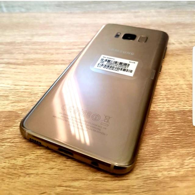 Samsung S8 plus Sme set 64gb (maple gold)