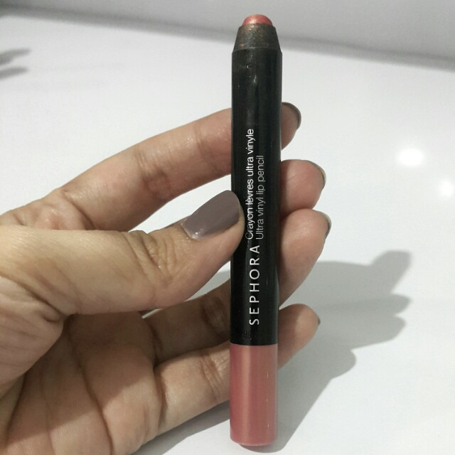 Sephora lip pencil #gorgeous peach