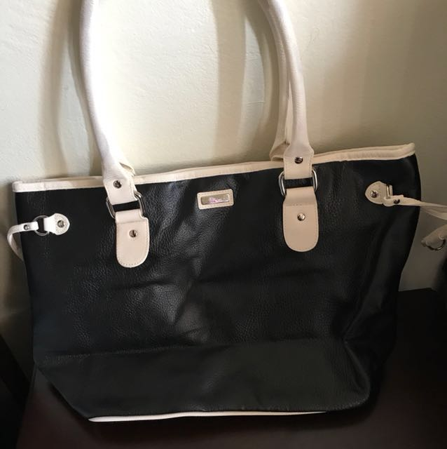 Shiseido Tote Bag - Black/cream