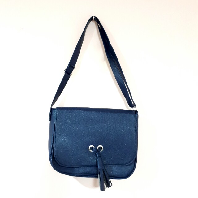 Sholder bag / tas selempang (Navy Blue)